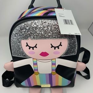 NWT. Betsy Johnson backpack
